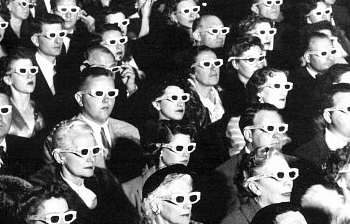 Yeah, we still look THIS good in our 3D glasses 60 years later.